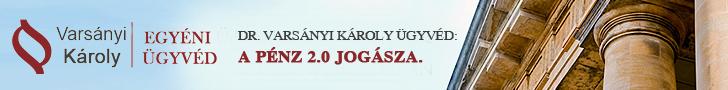 Dr. Varsányi Károly - a pénz 2.0 jogásza